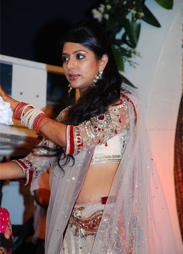 Indrajith Poornima Marriage Photos Traffic Club
