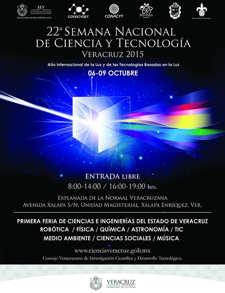 22a Semana Nacional de Ciencia y Tecnología