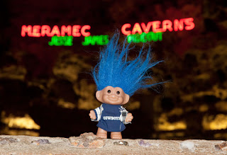 Route 66 Meramec Caverns entrance troll