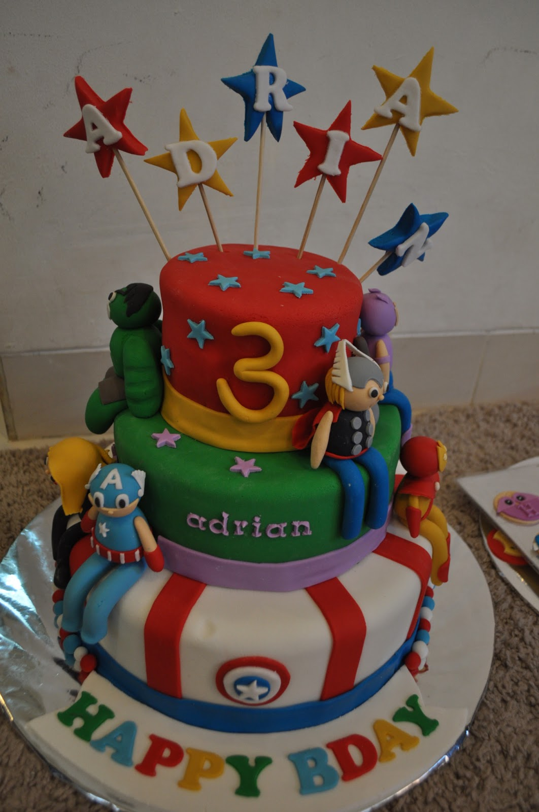 How To Make Avengers Cake At Home