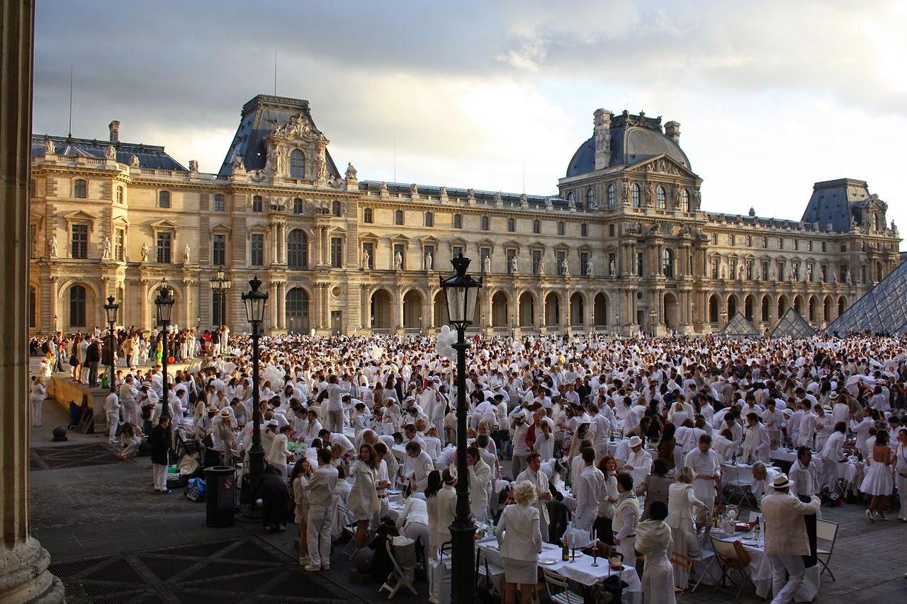 Diner en blanc em Paris - Wilipedia