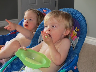 Maximilian and Artemis Watching Copy-Kids