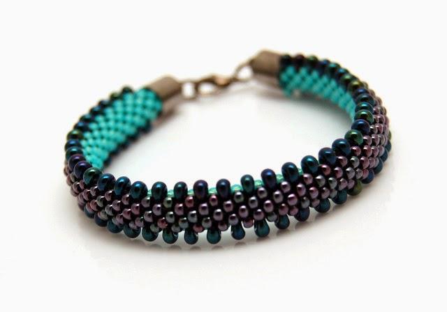 bransoletka koralikowa bead crochet bracelet inati zare 11