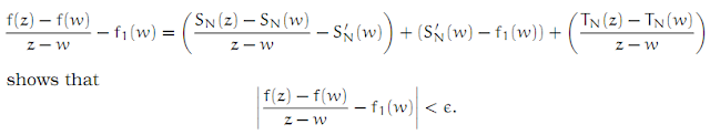 Complex Analysis: #6 Power Series equation pic 8