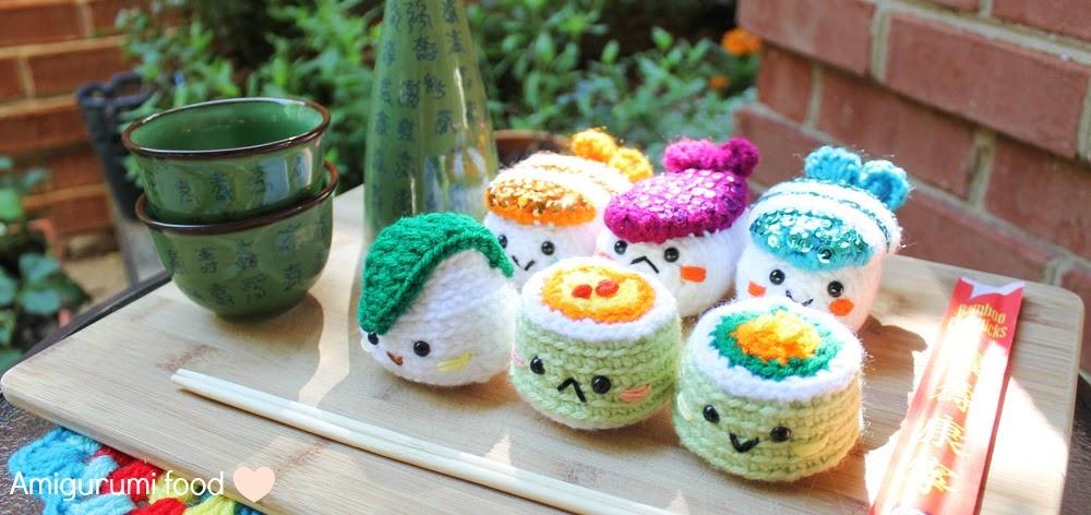 Amigurumi Food : Amigurumi Food: Mint cake Amigurumi {Free Pattern}