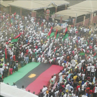 Biafra protest