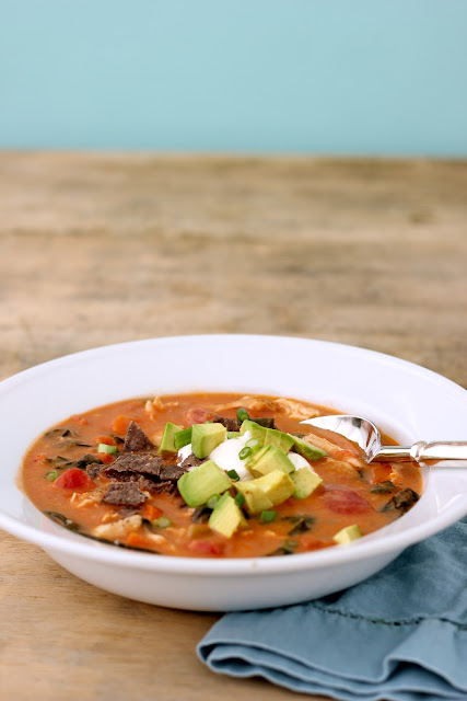 ... Chicken Tortilla Soup | Healthy Chicken & Vegetable Packed Mexican
