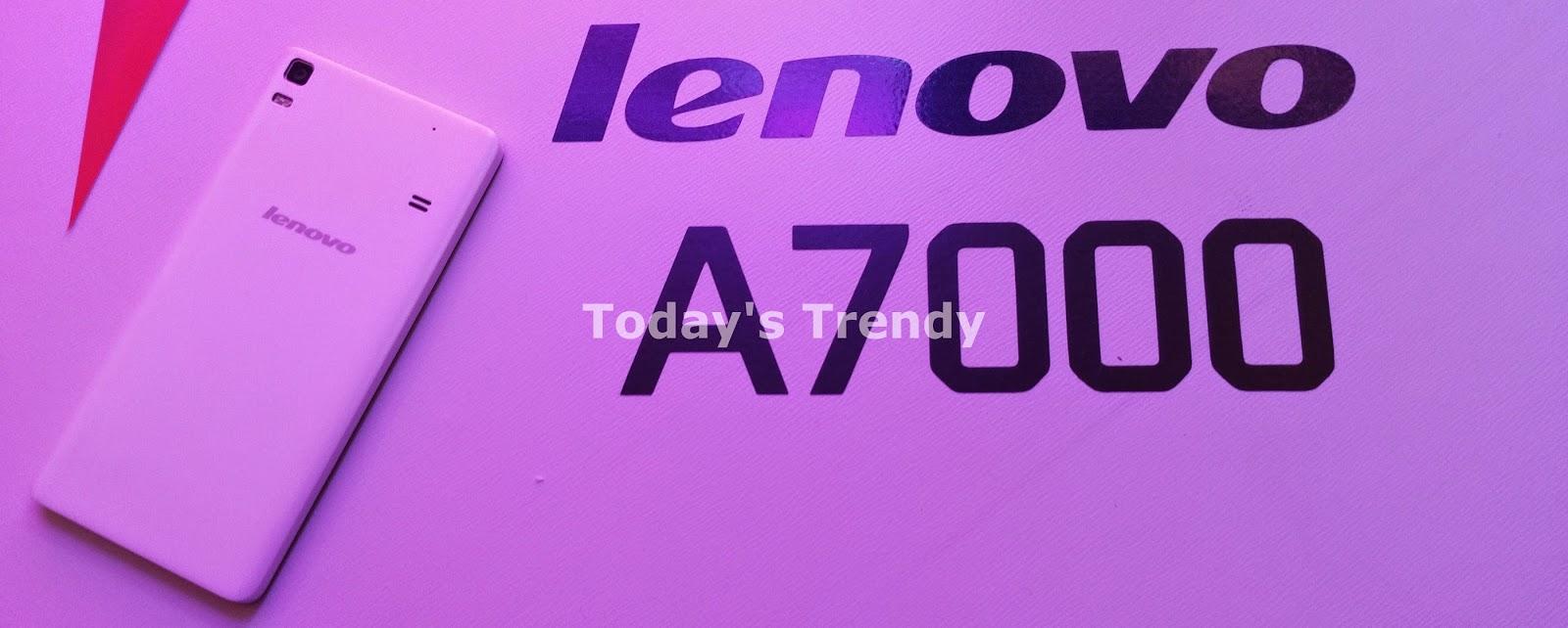Lenovo A7000 rear