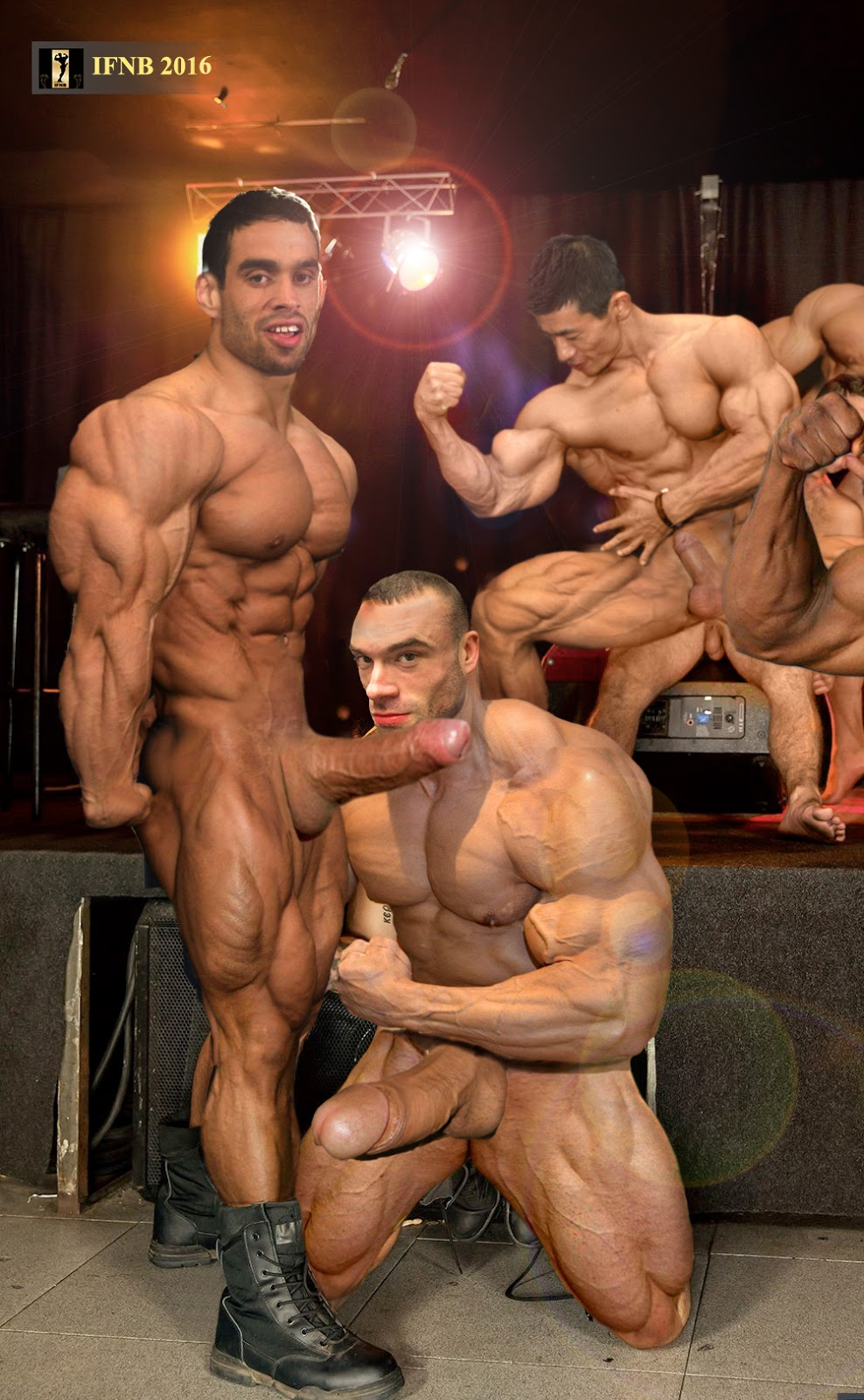 muscle gay cocks