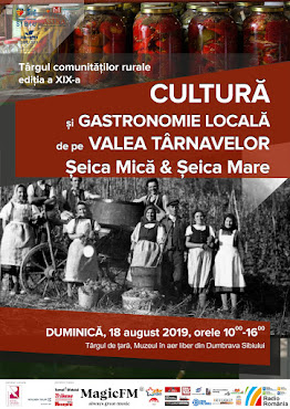 Târgul Comunităților Rurale - Șeica Mare, Seica Mică - 18 august