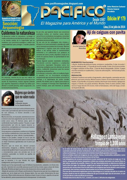 Revista Pacífico Nº 179 Arqueología