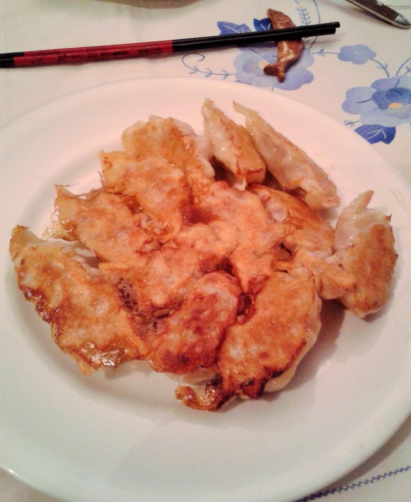 piatto di Gyoza grigliati