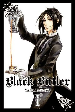 Manga Black Butler cover