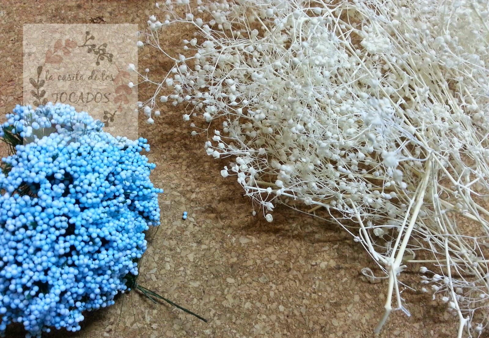 flores secas para incorporar a un bouquet para boda