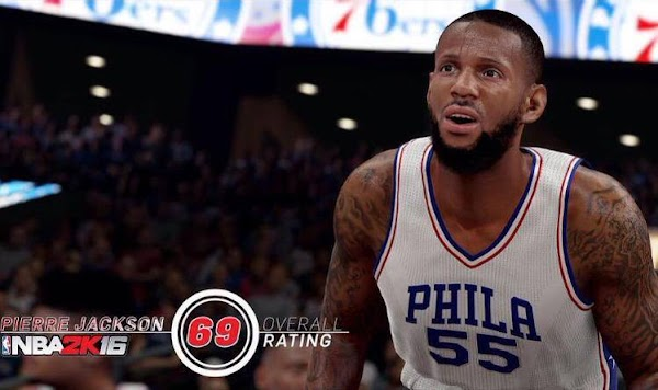 NBA 2k16 Screenshot Pierre Jackson - HoopsVilla