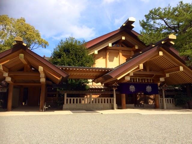 A Japanese Life: Nagoya : Atsuta Shrine