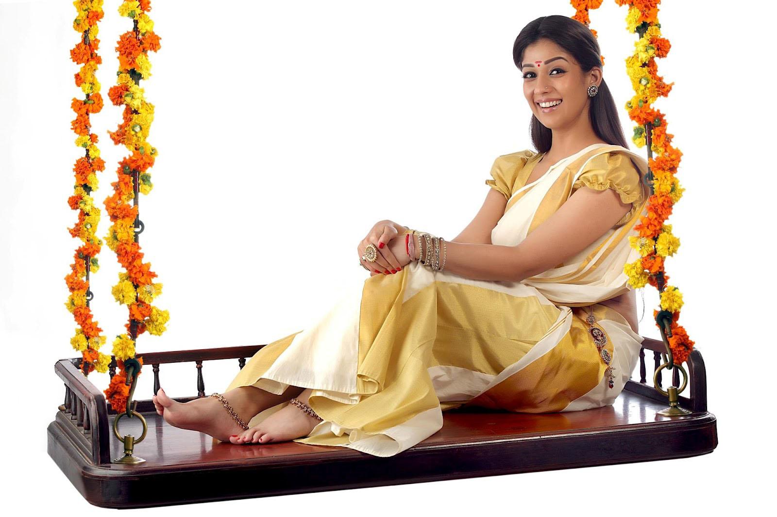 Nayanthara Gorgeous Photoshoot in Onam Dress