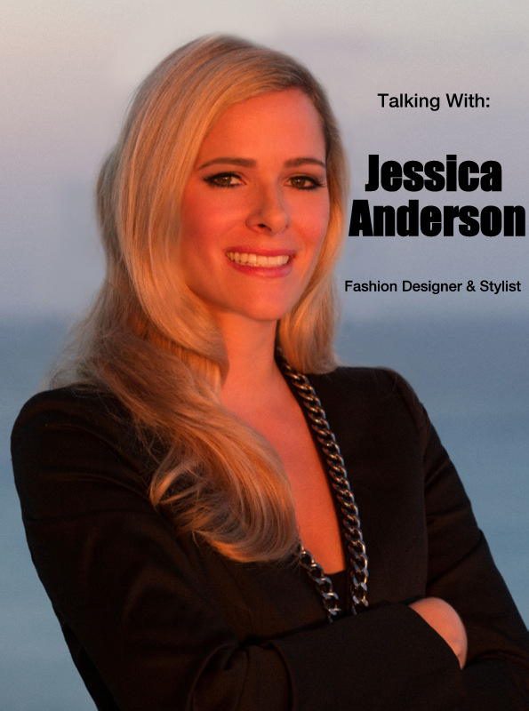 Fashion Designer Jessica Rae Anderson being Interviewed by Anais Alexandre who is a Fashion Blogger of Down to Stars