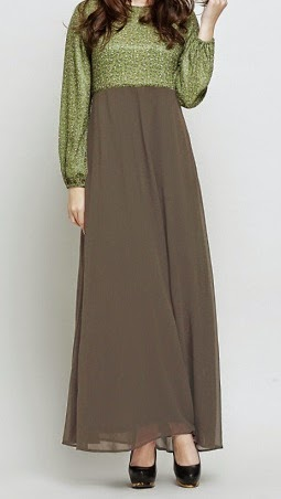 NBH0283 FATANAH MAXI DRESS