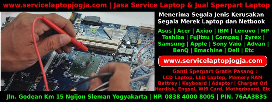 Jasa Service Laptop Jogjakarta