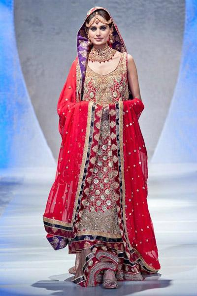 Latest Wedding Dress Sharara Designs 2013