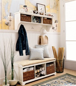 reader request entryway ideas,shelves and mirrors | white by mehar