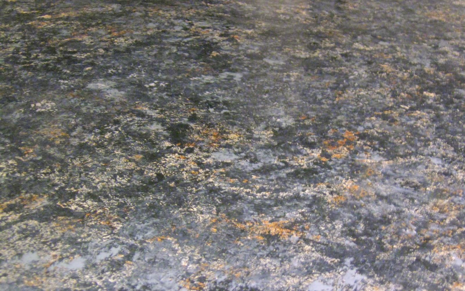 Swamp Hollow Designs: My $40 Faux-Granite Countertops - Tutorial