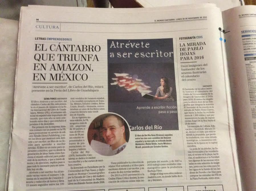 El Mundo Cantabria, 30 de noviembre de 2015
