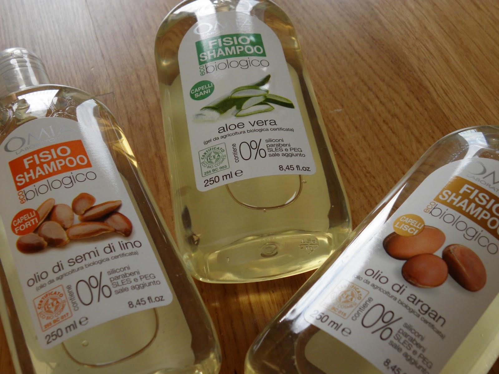 CopperSugarGlider: Omia: shampoo e maschere per capelli (tutte le ...