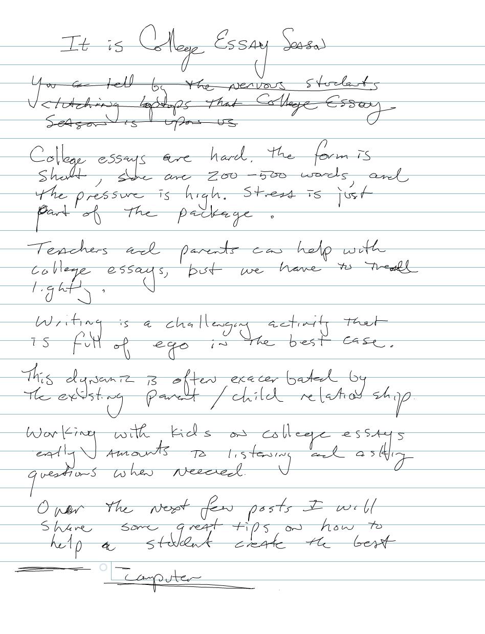 a1 essays
