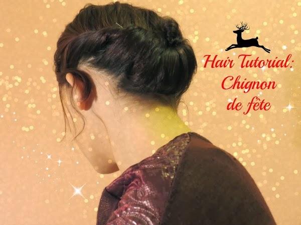 Hair Tutorial: Chignon de fête