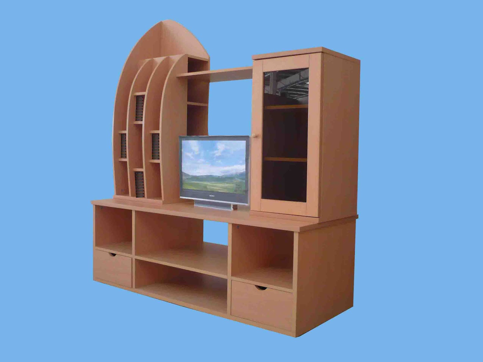 Lcd tv furnitures designs ideas an interior design - Lcd tv cabinet designs ...