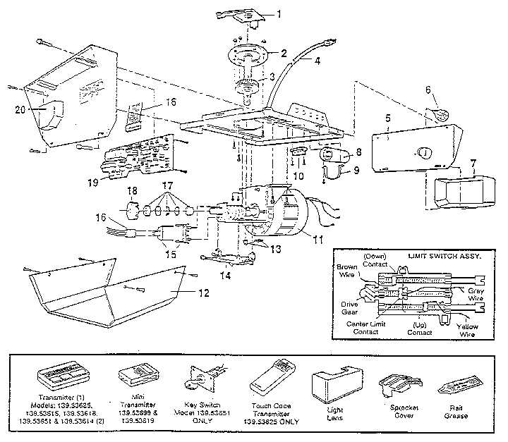 210 likewise 92 additionally 406 in addition Indak Ignition Switch Wiring Diagram Briggs And Stratton further Airplane Part Schematic. on craftsman garage door opener wiring diagram