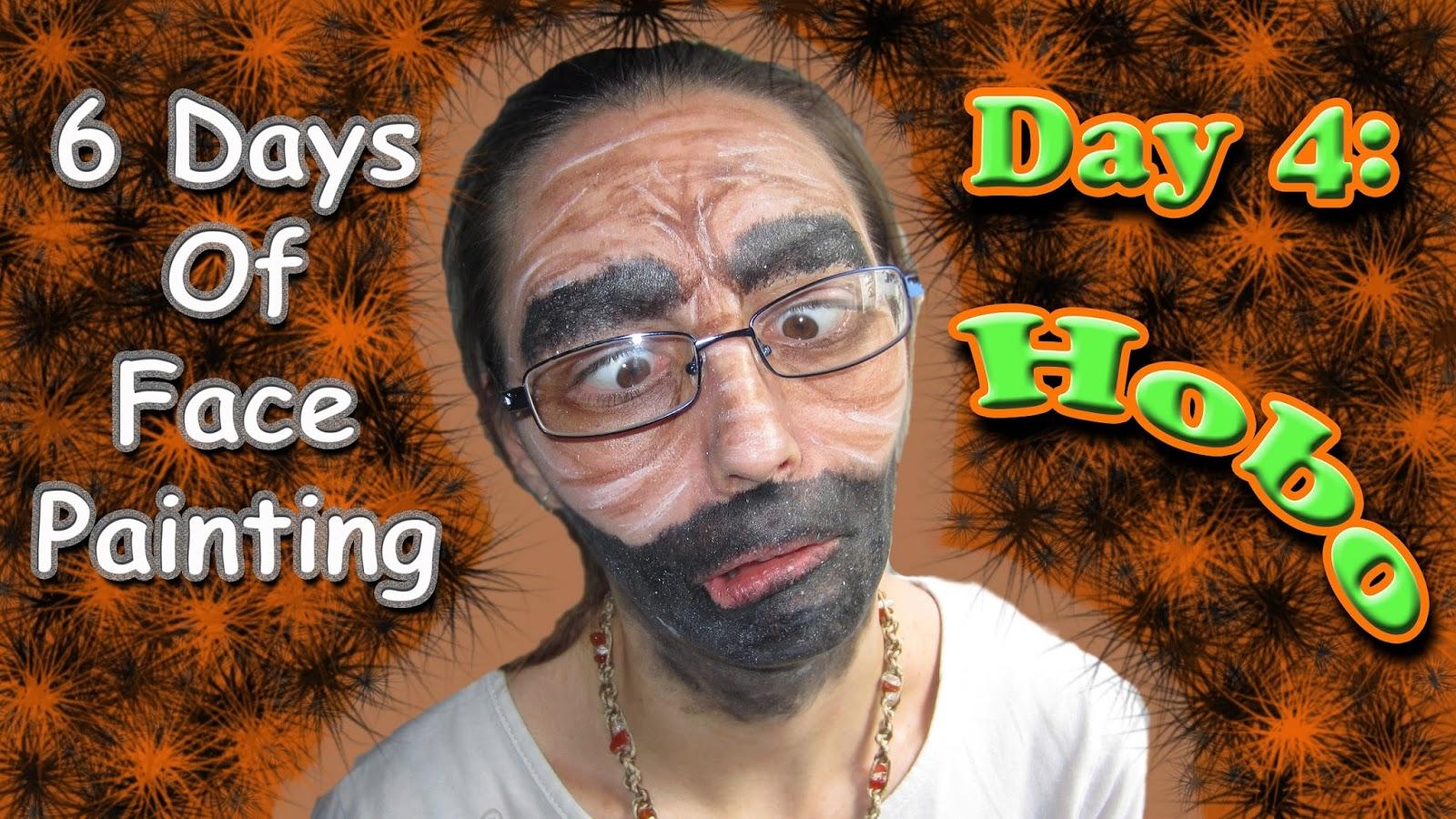 EasyMeWorld Halloween Hobo Face Painting Tutorial