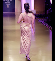 Alia Bhatt walks the Ramp in Golden Gown Spicy Photos