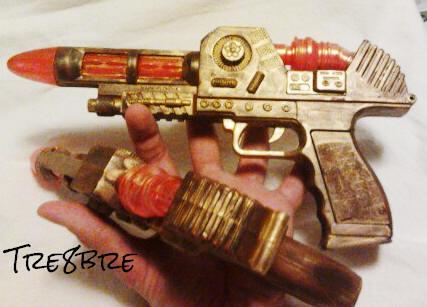 Steampunk Laserguns, by Tre8bre
