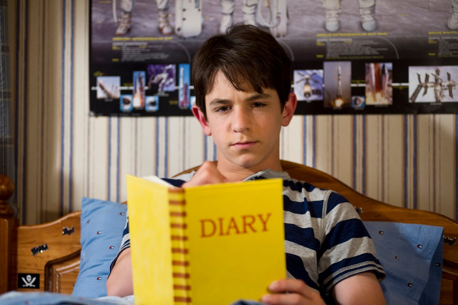 Zachary Gordon in Diary of A Wimpy Kid: Dog Days