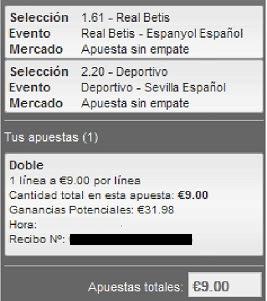 Apuestas Deportivas Rosberg Fútbol – Liga BBVA España Deportivo Sevilla Betis Español Lbapuetas