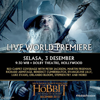 Live Steaming Premiere The Hobbit: The Desolation of Smaug
