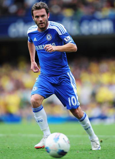 Juan Mata Chelsea Pictures 2011-2012