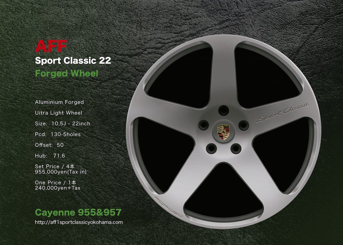 SPORT CLASSIC  22  FORGED