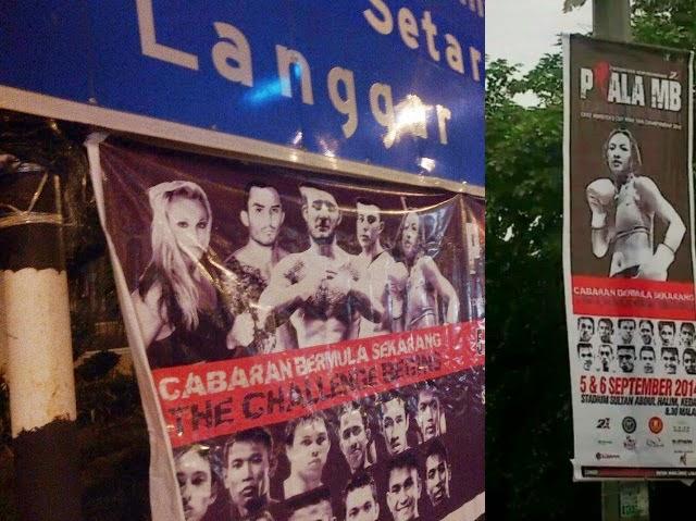 Iklan Seksi Promosi Muay Thai Piala MB Kedah