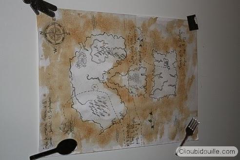 Invitaciones para fiesta pirata en Recicla Inventa