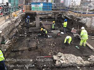 Une colonie viking-gaélique dans le centre de Dublin