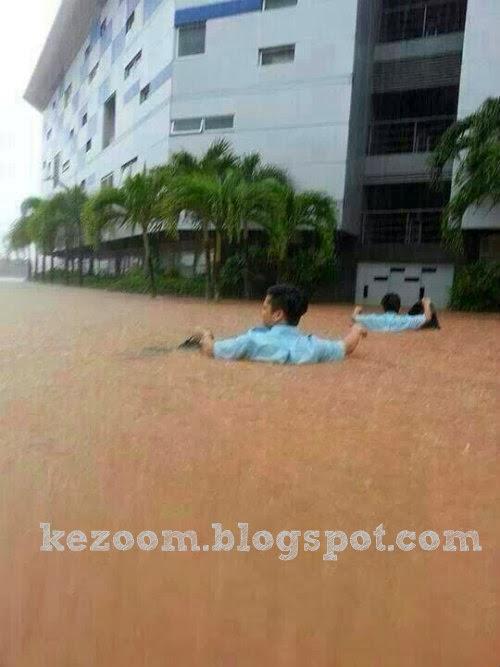 Gambar & Video Banjir di Kuantan
