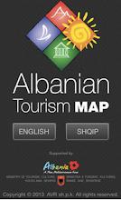 Albania Tourism Map 2013