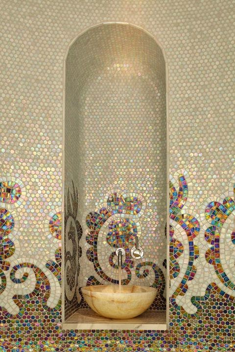 Nghệ thuật Moroccan trên nền đá khảm