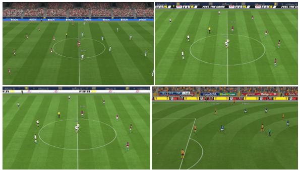 PES 2015 Adboard LED untuk Liga Inggris