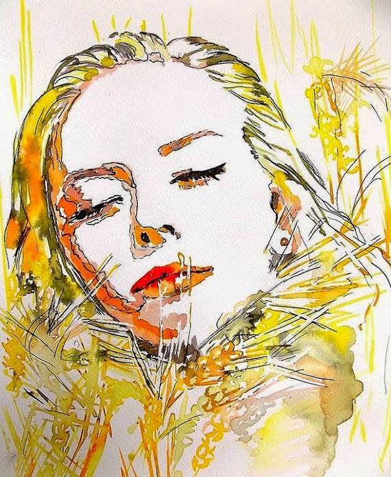 момиче с жито