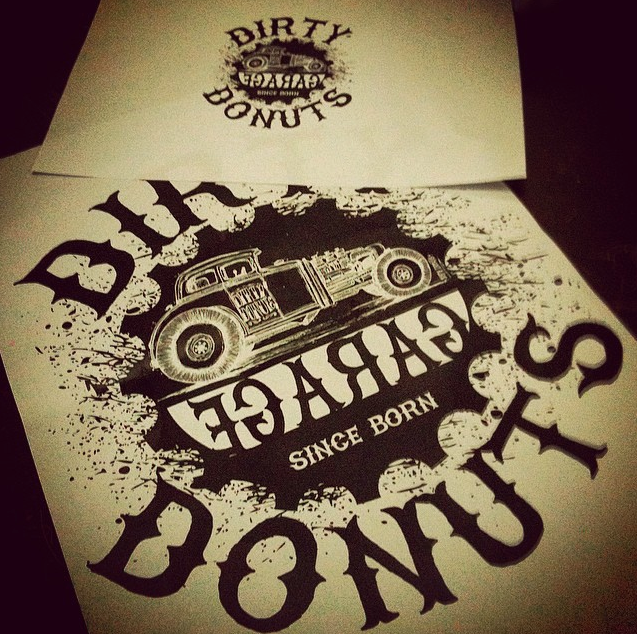 Silkscreen Dirtydonuts T-shirt